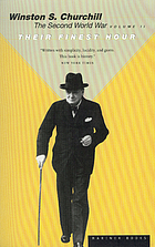 The second world war : their finest hour