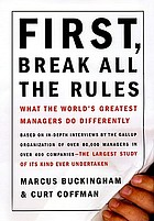 Featured book review : First, break all the rules.
