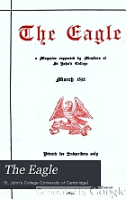 The Eagle : a magazine