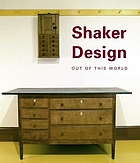 Shaker design : out of this world
