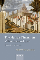 The human dimension of international law : selected papers