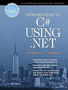 Introduction to C♯ using .NET