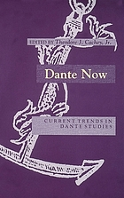 Dante now : current trends in Dante studies