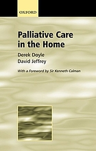 Palliative care in the home