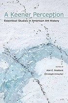 A keener perception : ecocritical studies in American art history