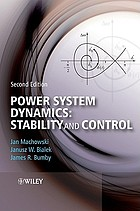 Power system dynamics : stability and control