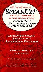 SpeakUp! Asian, Indian & Middle Eastern accent elimination program