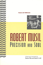 Precision and soul : essays and addresses