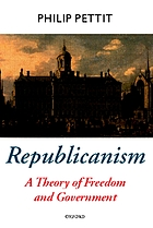 Republicanism : a theory of freedom and government