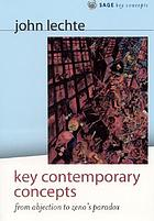Key contemporary concepts : from abjection to Zeno's paradox
