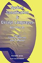 System specification & design languages : best of FDL'02