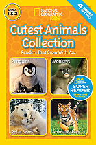 Cutest animals collection : readers that grow with you.