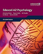 Edexcel A2 psychology. Student book