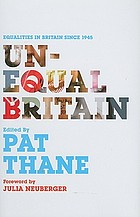 Unequal Britain : equalities in Britain since 1945