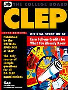CLEP : official study guide.