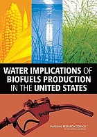 Water implications of biofuels production in the United States