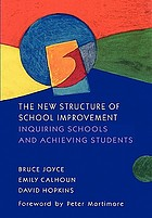 The new structure of school improvement : inquiring schools and achieving students