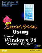 Special edition using Windows 98