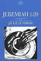 Jeremiah 1-20 : a new translation with introduction and commentary