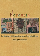 Herencia : the anthology of Hispanic literature of the United States