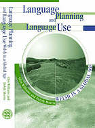 Language planning and language use : Welsh in a global age