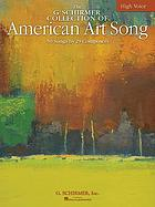 The G. Schirmer collection of American art song : 50 songs by 29 composers