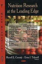 Nutrition research at the leading edge