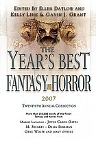The year's best fantasy & horror : 20th annual collection