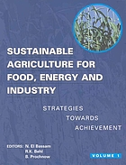 Sustainable agriculture for food, energy and industry 2