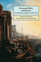 Economy, polity, and society : British intellectual history 1750-1950