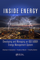 Inside energy : developing and managing an ISO 50001 energy management system