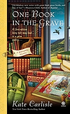 One book in the grave : a bibliophile mystery