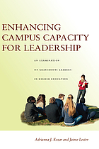 Enhancing campus capacity for leadership : an examination of grassroots leaders in higher education