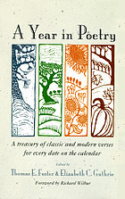 A year in poetry : a treasury of classic and modern verses for every date on the calendar
