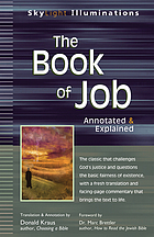 The book of Job : annotated & explained