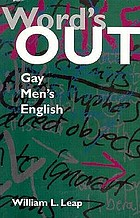 Word's out : gay men's English