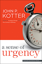 Featured book review : a sense of urgency