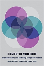 Domestic Violence: Intersectionality and Culturally Competent Practice cover image