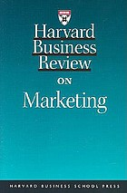 Harvard business review on marketing.