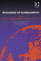 Economics of globalisation