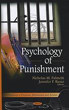 Psychology of punishment