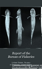 Report of the Bureau of Fisheries