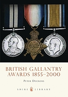 British gallantry awards 1855-2000