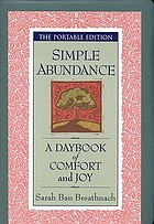 Simple abundance : a daybook of comfort and joy