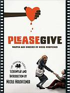 Please give : the shooting script