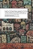 No continuing city : the story of a missiologist from colonial to postcolonial times