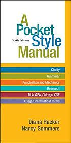 A pocket style manual 6th ed.