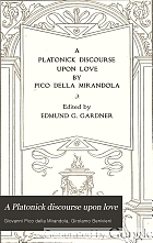 A Platonick discourse upon love,