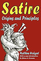 Satire : origins and principles