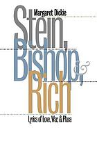 Stein, Bishop & Rich : lyrics of love, war & place